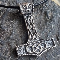 "Thors Hammer Anhänger ""AEGIR"" aus Sterling..."