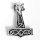 """Thorshammer Anhänger """"AURBODA"""" aus 925 Sterling Silber"""