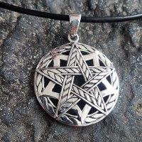 """Pentagramm Schmuck Anhänger """"Draconia"""" aus..."""