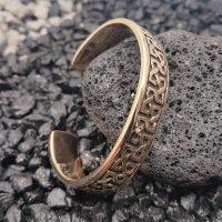 """""""Camulos"""" Bronzearmreifen mit keltischen Knotenmuster"""