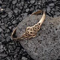 Bronzearmreif mit keltischem Knoten