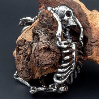 "Armband ""Der Tote Wikinger"" aus Edelstahl (poliert)"