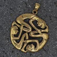 Menschlicher keltischer Knoten Schmuckanhänger aus...