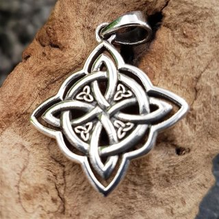 """Keltischer Knoten Anänger """"FYRA"""" aus 925 Sterling Silber"""