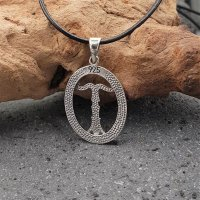 Irminsul Schmuck Amulett aus 925 Sterling Silber