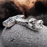 "Silberanhänger - Thorshammer ""DREG"" - 925 Sterling Silber"
