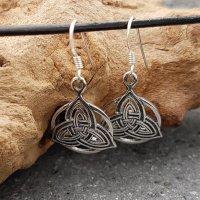"Ohranhänger ""Triquetra"" aus 925 Sterling Silber"