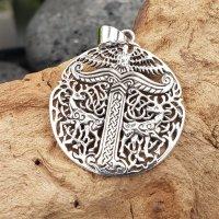 Irminsul Schmuckanhänger aus 925 Sterling Silber