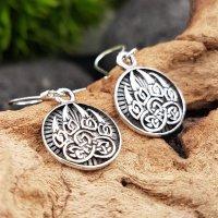 Bärenklaue Ohrhänger aus 925 Sterling Silber