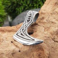 Wikinger Runen Axt aus 925 Sterling Silber