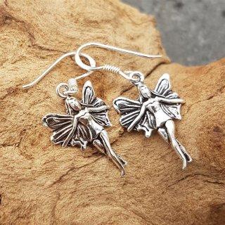 Feen Ohrhänger aus 925er Sterling Silber
