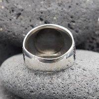 "Wikinger Triskelen Ring ""BRYNJAR"" aus 925 Sterling Silber 67 (21,3) / 11,8 US"