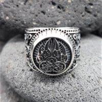 "Bärenklaue Ring ""EERIKKI"" aus 925 Sterling..."