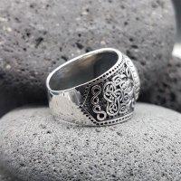 "Bärenklaue Ring ""EERIKKI"" aus 925 Sterling Silber 70 (22,3) / 12,9 US"