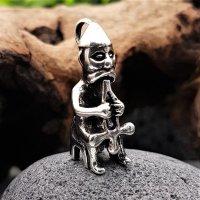 """Thor auf seinem Thron """"DONAR"""" Schmuckanhänger aus 925 Sterling Silber"""