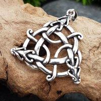 """Keltischer Schlangenknoten Anhänger """"FRIGGA"""" aus 925 Sterling Silber"""
