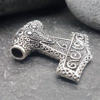 """Massiver Silber Thorshammer """"OLEG"""" aus 925 Sterling Silber"""