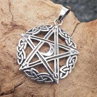 "Pentagramm Amulett ""ANJOR"" aus 925 Sterling Silber"