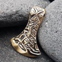 "Mammenaxt ""LORE"" Anhänger aus Bronze"