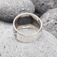 """Helm of Awe Ring """"AEGIS"""" aus 925 Sterling Silber 64 (20,4) / 10,7 US"""