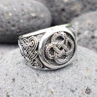 """Keltischer Knoten Ring """"GAEL"""" aus 925 Sterling Silber 70 (22,3) / 12,9 US"""