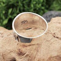 """Thors Hammer Ring """"SLEGGE"""" aus 925 Sterling Silber 59 (18,8) / 8,7 US"""