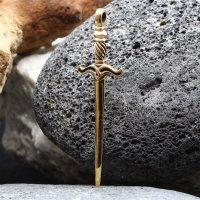 """Schwert Anhänger """"GRAM"""" aus Bronze"""