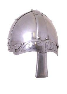 Spangenhelm mit Nasal, 2 mm Stahl