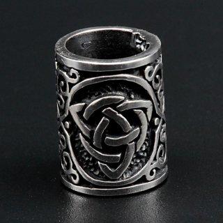 "Triquetra Bartperle ""HADIR"" aus 925 Sterling Silber"