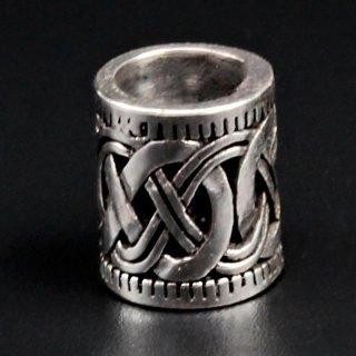 "Keltischer Knoten Bartperle ""MANIR"" aus 925 Sterling Silber"