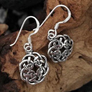 """Keltischer Knoten Ohrschmuck """"DAGNY"""" aus 925er Sterling Silber"""