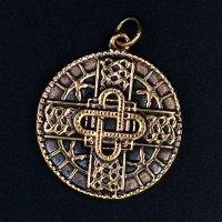 """Keltisches Schmuckamulett """"LILL"""" aus Bronze"""
