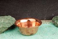 Räucherschale Kupfer, schlicht - Ø 9,2 cm, H:...