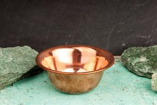 Räucherschale Kupfer, schlicht - Ø 11,7 cm, H: 4,8 cm
