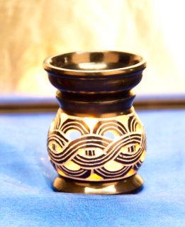 Aromalampe Keltischer Knoten, dunkelblau