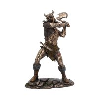 Berserker 28.5 cm - bronze Viking medium warrior figurine...