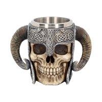 Viking Skull Tankard - Draugr