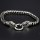"""Viking bracelet """"Audhumbla"""" with clip ring made of stainless steel"""