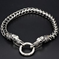 "Viking bracelet ""Sleipnir"" with clip ring made..."