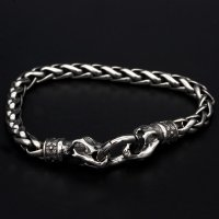 "Viking bracelet ""Garmr"" with clip ring made of..."