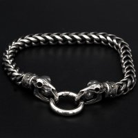"Viking bracelet ""Tanngnjostr"" with clip ring..."