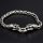 """Viking bracelet """"Fenrir"""" with clip ring made of stainless steel"""