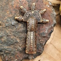 Germanic Alamanni armbrooch made of bronze