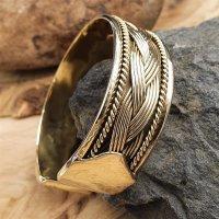 "Viking bracelet ""ALFHILD"" made of bronze"