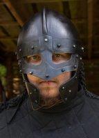 Raven Helm, brüniert Medium: 61 cm x 22 cm x 17,5 cm - 2,1 kg