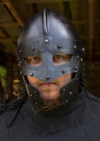 Raven Helm, brüniert Large: 65 cm x 23 cm x 19,5 cm - 2,2 kg