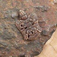 "Viking brooch ""FRIEDA"" made of Bronze"
