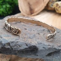 "Celtic knot bracelet ""SHANNON"" made of bronze"