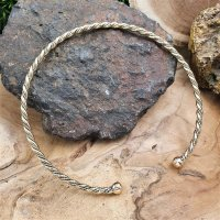 "Celtic Torq choker ""DEIDRE"" made of bronze"