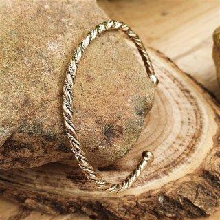 """Keltischer Frauen Armreif """"DEIDRE"""" aus Bronze"""